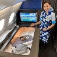 ANA first class interior