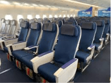 ANA economy class seats