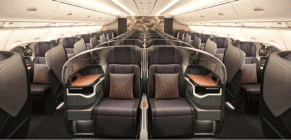Singapore Airline's business class